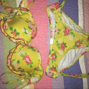 Target floral bathing suit